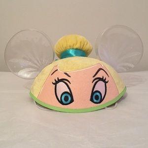 Tinker Bell Mickey Ears Hat